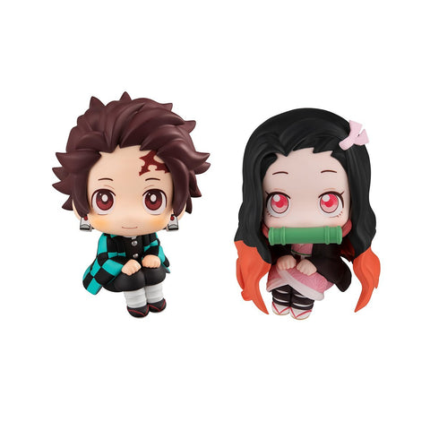 Demon Slayer: Look Up Series Demon Slayer Tanjiro & Nezuko Set [With Gift] Non-Scale Figure Pre-order Megahouse