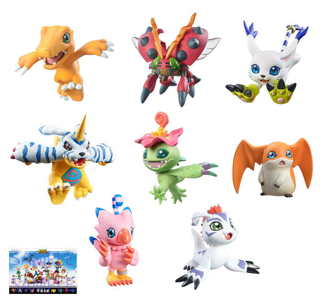 Digimon Adventure Digicolle Mix Set [With Gift] Pre-order Megahouse