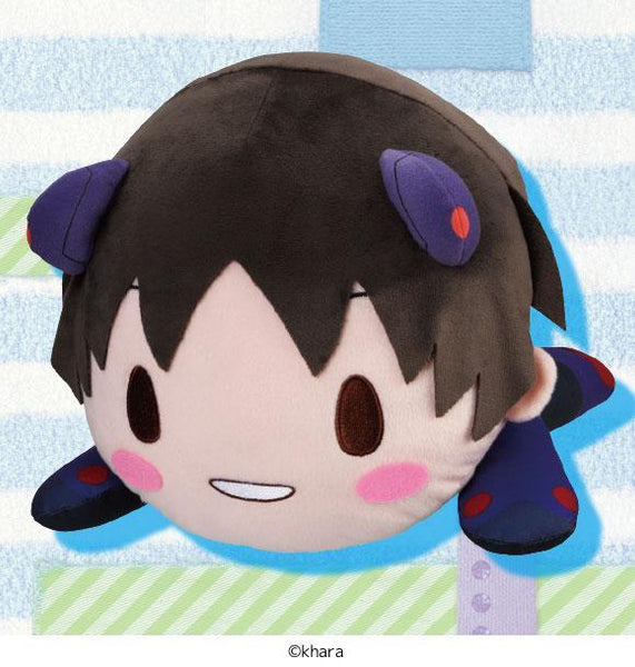 Evangelion: Mej Lay-Down Plush Shinji - Plug Suit Feat. Sangatsu Youka No Longer Available SEGA