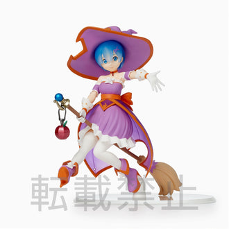 "Re:Zero -Starting Life In Another World- SPM Figure ""Rem"" Witch Girl-Operation Pre-order SEGA"
