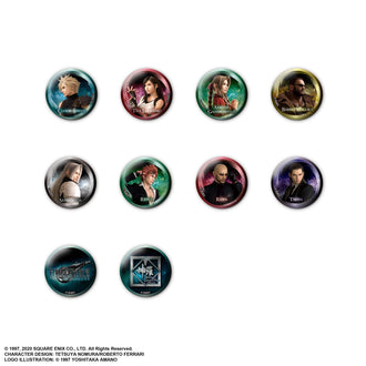 Final Fantasy VII Remake Pin Badge Collection (Blind Box) Pre-order Square Enix