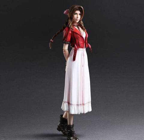 Final Fantasy VII Remake Play Arts -Kai- Aerith Gainsborough Action Figure Pre-order Square Enix