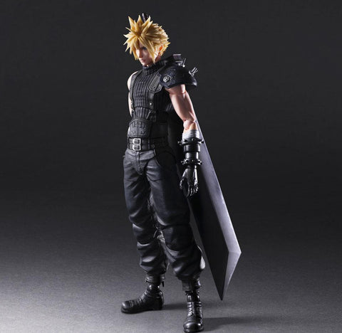 Final Fantasy VII Remake Play Arts -Kai- Cloud Strife Ver. 2 Action Figure Pre-order Square Enix