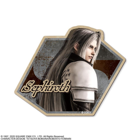 Final Fantasy VII: Remake Character Sticker Sephiroth Pre-order Square Enix
