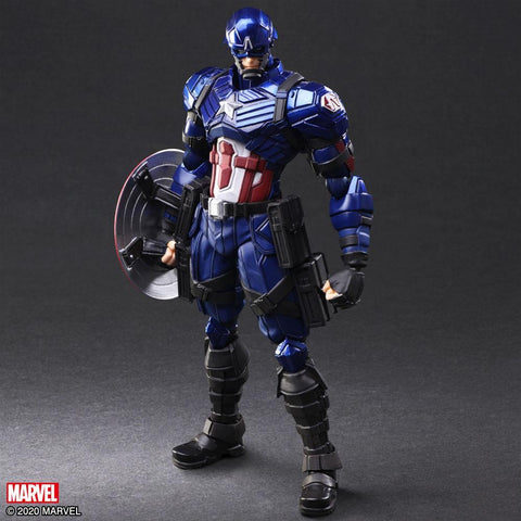 Marvel Universe: Marvel Universe Variant Bring Arts Captain America Action Figure No Longer Available Square Enix