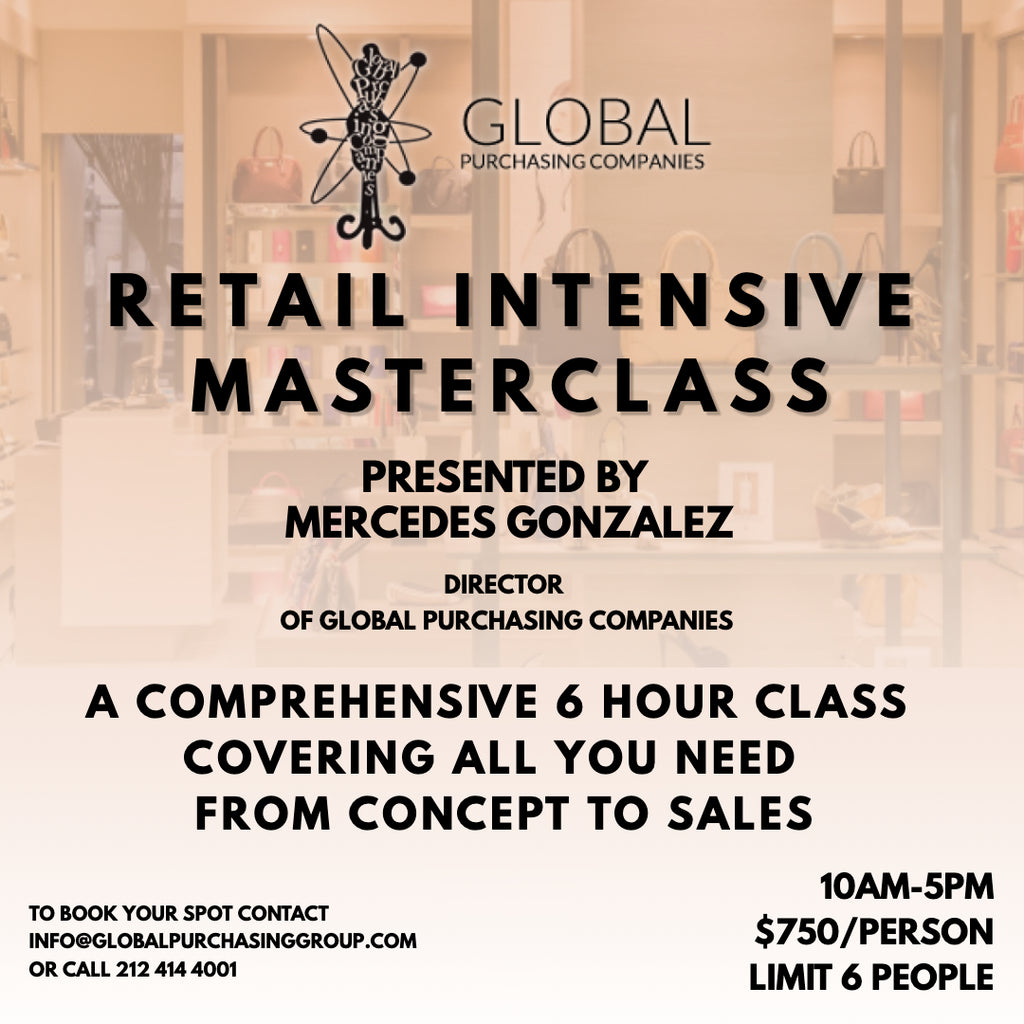 Exclusive Retail Intensive Masterclass