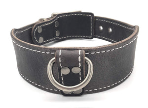 DOUBLE LAYERED BUFFALO LEATHER COLLAR STARTING AT