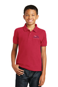 Red Port Authority® Youth Core Classic Pique Polo