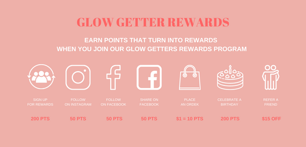 glow getter rewards blush essentials