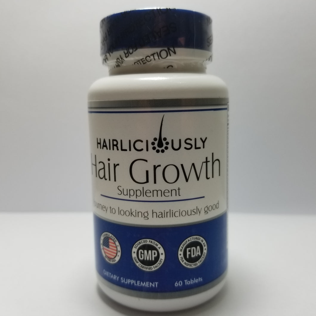 HAIRLICIOUSLY Hair Growth Supplement (12 Month Supply) - HAIRLICIOUSLY LLC
