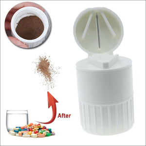 HAIRLICIOUSLY Pill Cutter and Grinder - HAIRLICIOUSLY