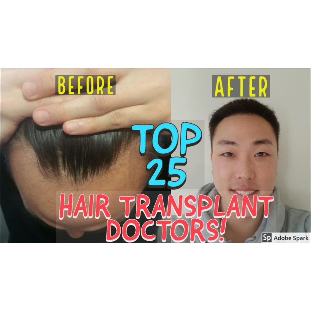 HAIRLICIOUSLY Top 25 Hair Transplant Doctors eBook - HAIRLICIOUSLY