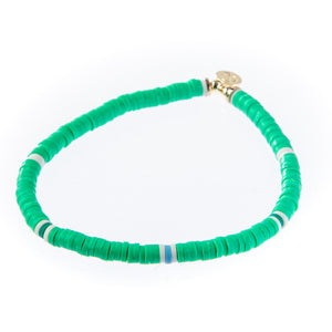 Seaside Skinny Bracelet - Kelly Green