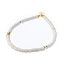 Load image into Gallery viewer, Seaside Skinny Bracelet - White