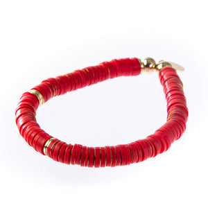 Seaside Bracelet - Red