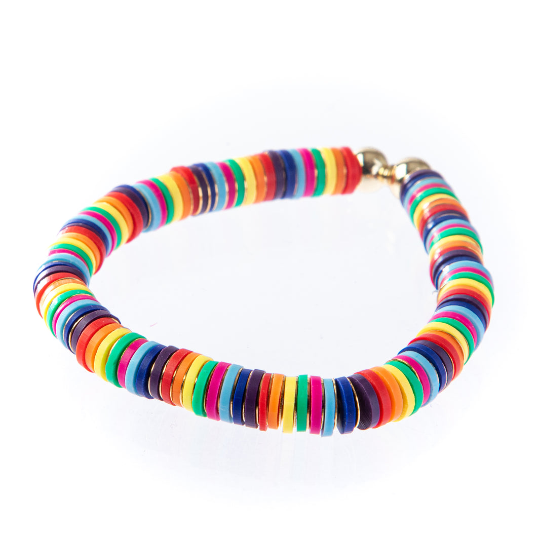 Seaside Bracelet- Rainbow