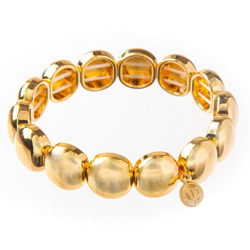 Bubble Bracelet - Gold 12mm