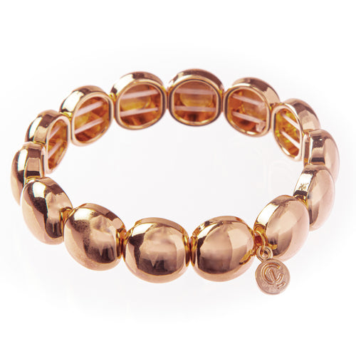 Bubble Bracelet- Rose Gold 10mm