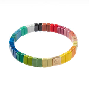 Tile Bracelet- Colorburst