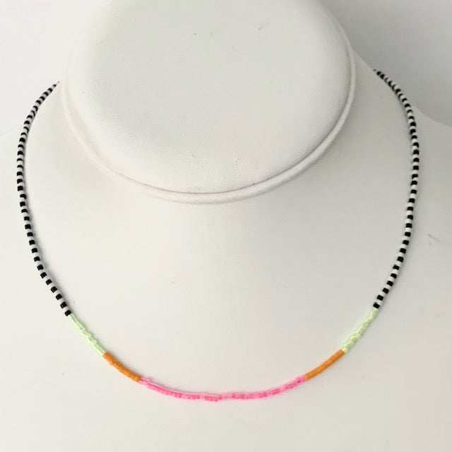 Seed Bead Necklace- Pixy