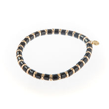 Load image into Gallery viewer, Laguna Squared Bracelet- Black