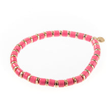 Load image into Gallery viewer, Laguna Squared Bracelet- Pink