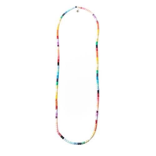 Long Laguna Necklace - Autumn Rainbow