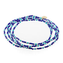 Load image into Gallery viewer, Malibu Wrap Bracelet/Necklace - Royal/Turq