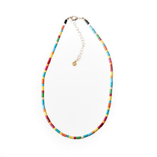 Load image into Gallery viewer, Tube Tile Necklace - Rainbow