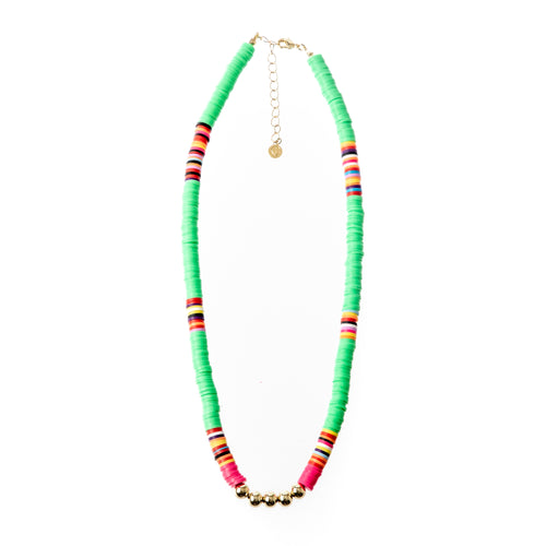 Seaside Necklace - Kelly Green