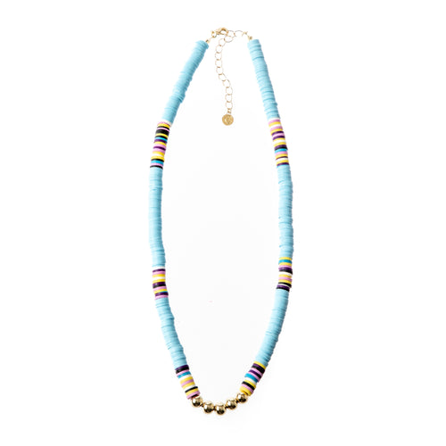 Seaside Necklace- Pale Blue