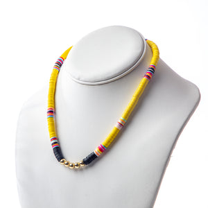Seaside Necklace- Yellow