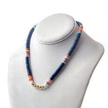 Load image into Gallery viewer, Seaside Necklace- Navy