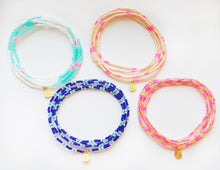 Load image into Gallery viewer, Malibu Wrap Bracelet/Necklace- Peach/Pink