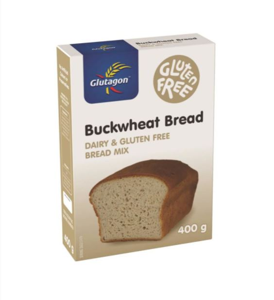 GLUTAGON BUCKWHRAT BREAD MIX 6 UNITS (1 BOX UNIT – 400G)