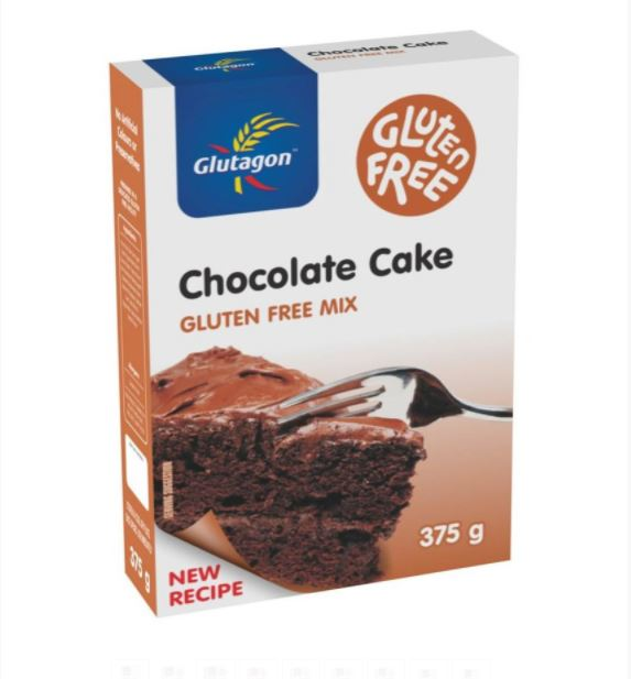 GLUTAGON CHOCOLATE CAKE MIX 6 UNITS (1 BOX UNIT – 375G)
