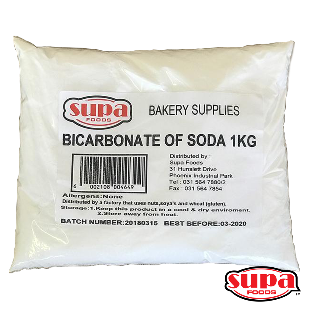 Bicarbonate of Soda - 1kg or 5kg