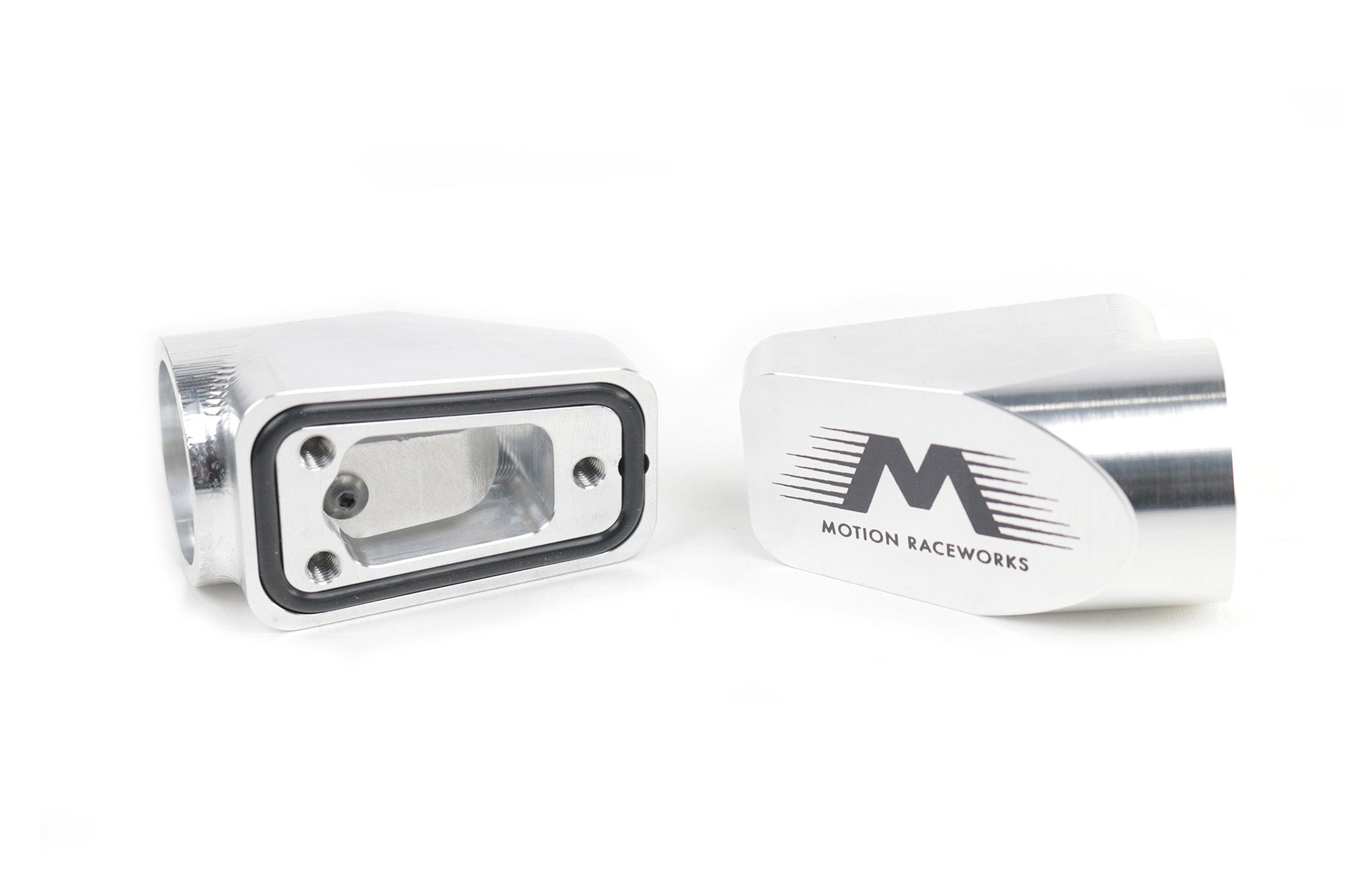Motion Raceworks Billet Valve Cover Breathers Polished (Pair) 32-120-Motion Raceworks-Motion Raceworks