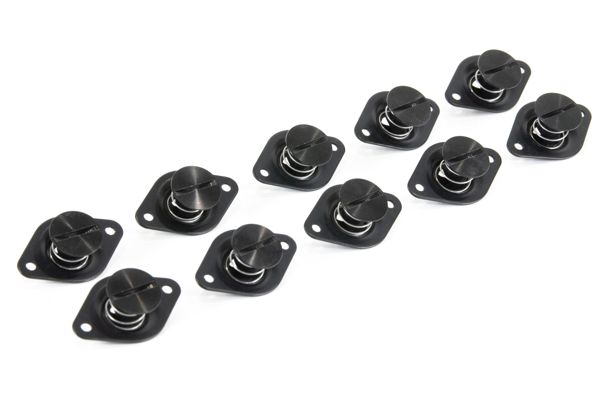 7/16 Black Anodized Dzus Fastener, Self Eject (10 Pack)-Motion Raceworks-Motion Raceworks