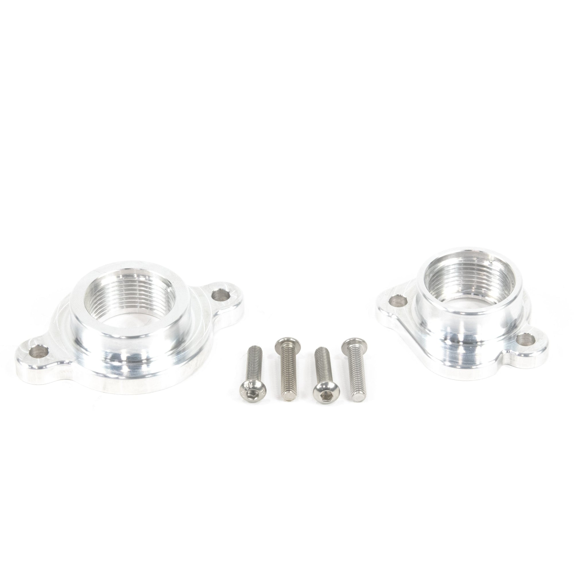 Motion Raceworks Coyote Ford Billet Water Pump to AN Adaptor Combo Kit (Water Pump/Cylinder Head)-Motion Raceworks-Motion Raceworks
