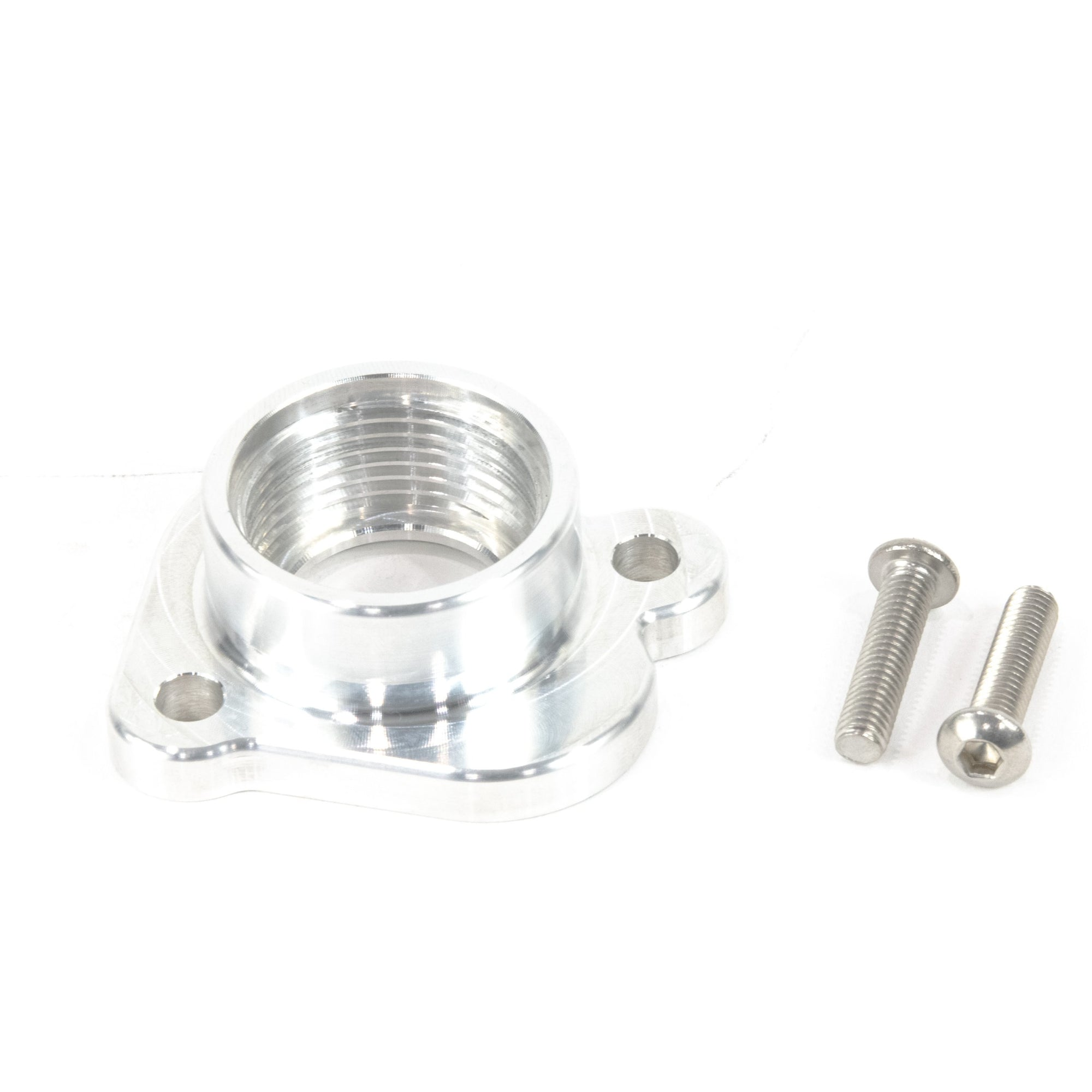 Motion Raceworks Coyote Billet Water Pump to AN Adaptor (Cylinder Head)-Motion Raceworks-Motion Raceworks
