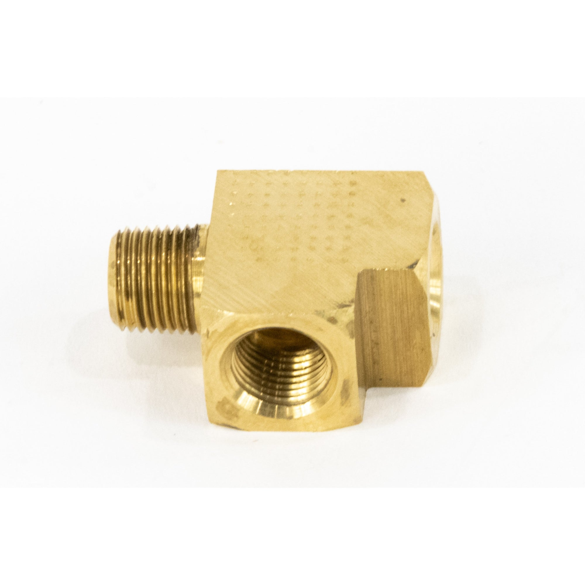 "Brass ""T"" for Wastegate Sensor Mounting for Dome Pressure 1/8"" NPT 25-10001-Motion Raceworks-Motion Raceworks"