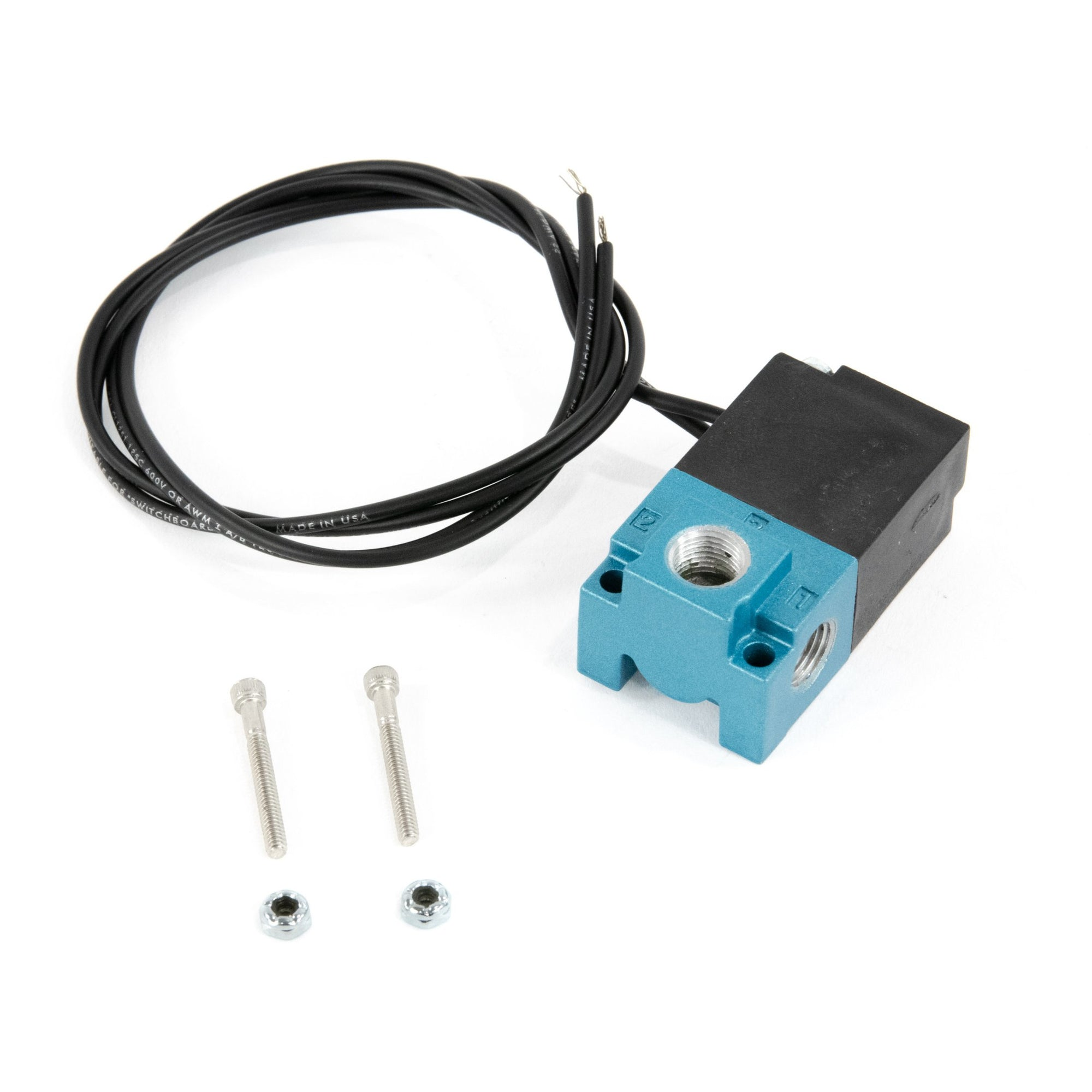 Mac Valve 3 Port Solenoid-Mac-Motion Raceworks