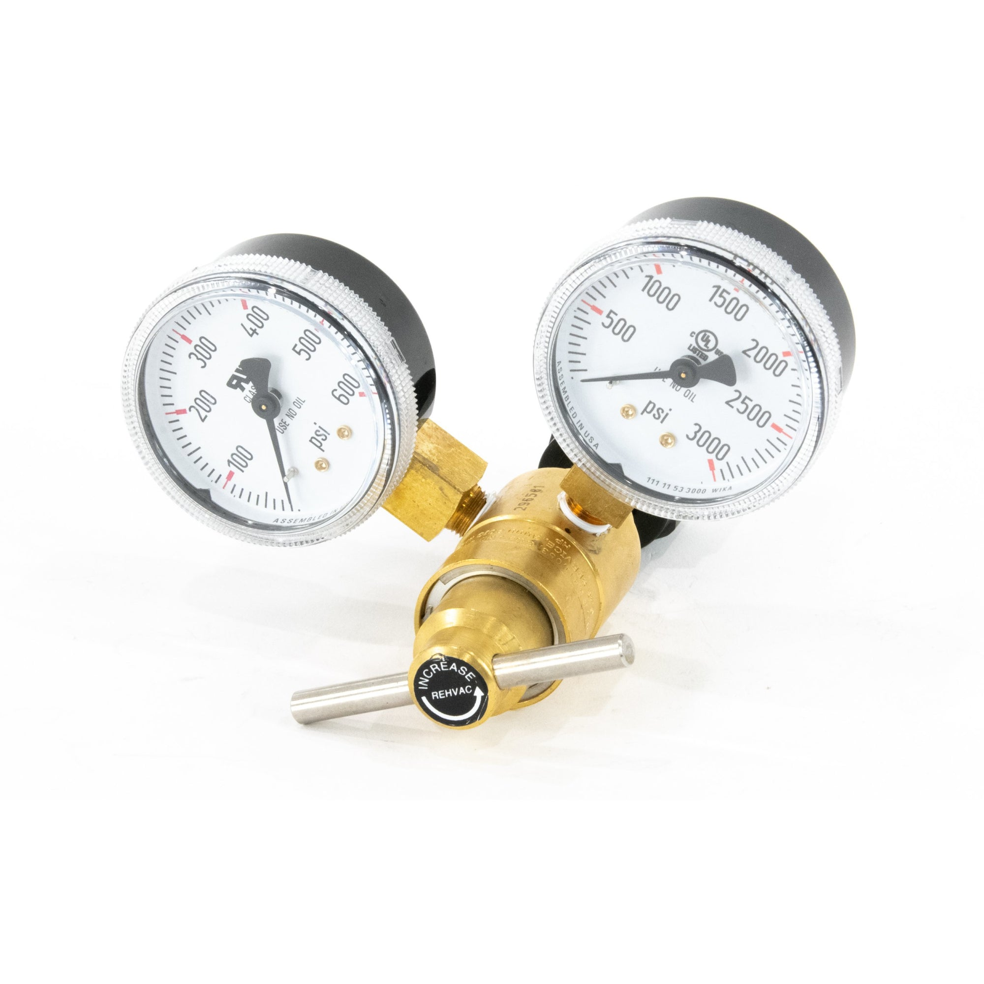 Dual Adjustable CO2 Regulator w/ Gauge-Motion Raceworks-Motion Raceworks