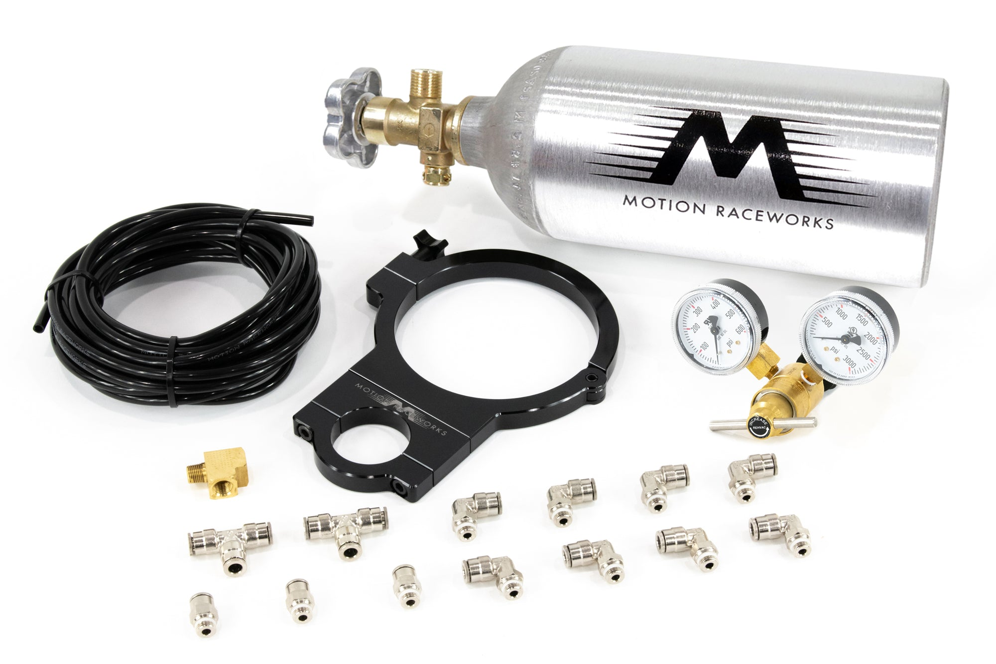 Motion Raceworks Twin Wastegate Turbocharged CO2 Kit-Motion Raceworks-Motion Raceworks