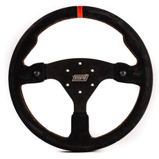 MPI Off Road Concept Specific Suede Steering Wheel w/Black Push Buttons (MPI-F-14-2B-BLK)