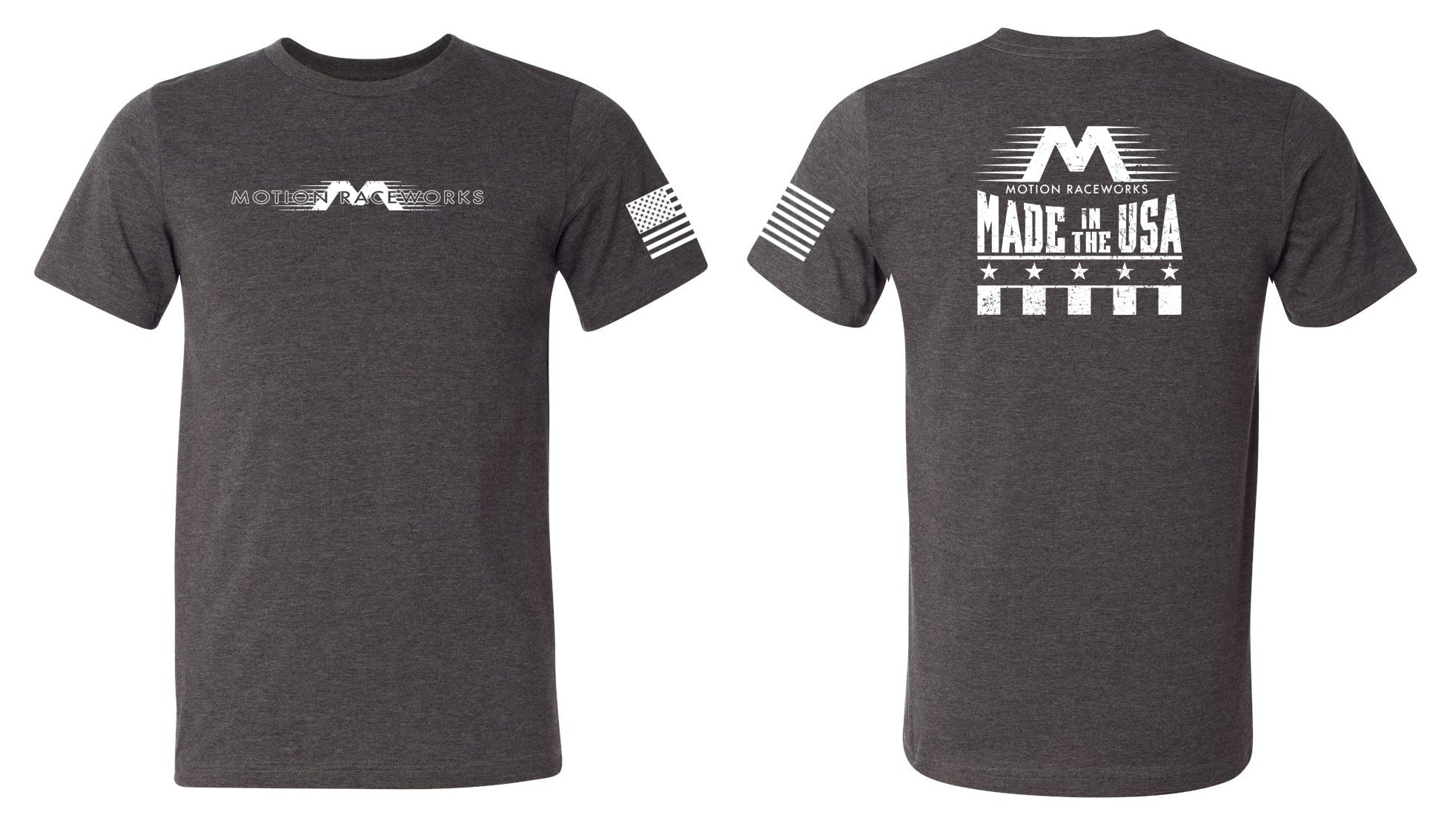 Made in the USA T-Shirt Sizes XS-4X-Motion Raceworks-Motion Raceworks