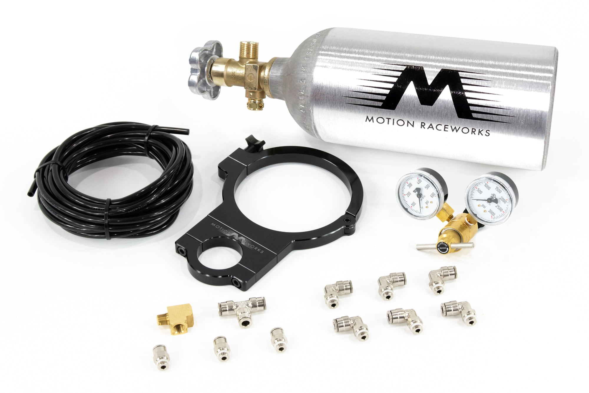 Motion Raceworks Single Wastegate Turbocharged CO2 Kit-Motion Raceworks-Motion Raceworks