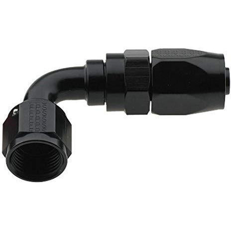 Fragola -6 AN 90° Hose End 229006-BL-Fragola-Motion Raceworks