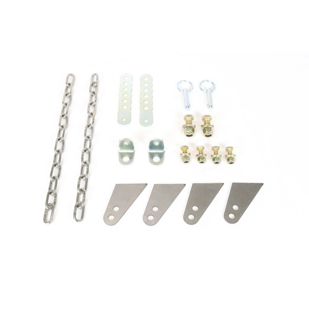 Motion Raceworks Chain Travel Limiters w/ Quick Pins